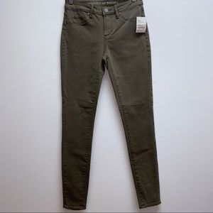 Articles of Society green skinny jean